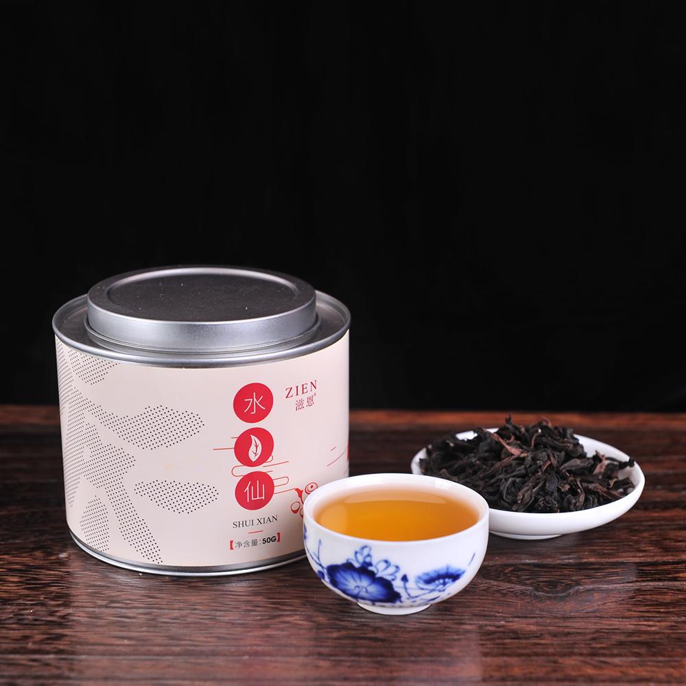 【滋恩】一级水仙 圆罐装 50g_0