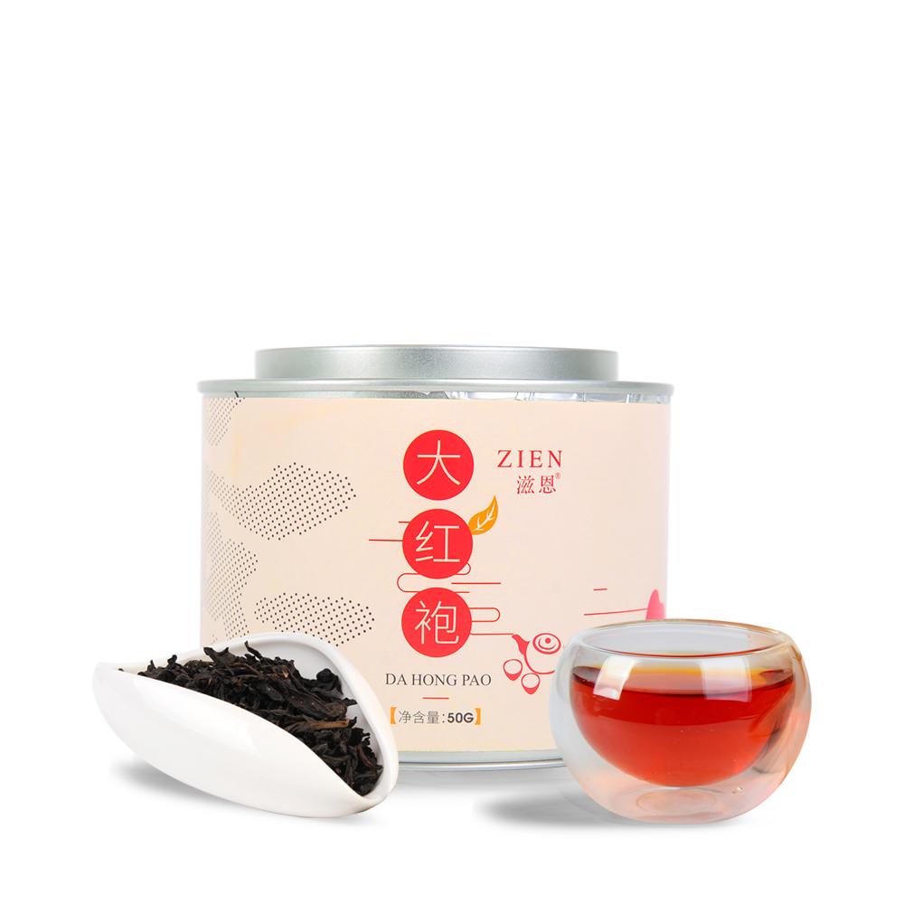 【滋恩】一级大红袍 圆罐装 50g_0
