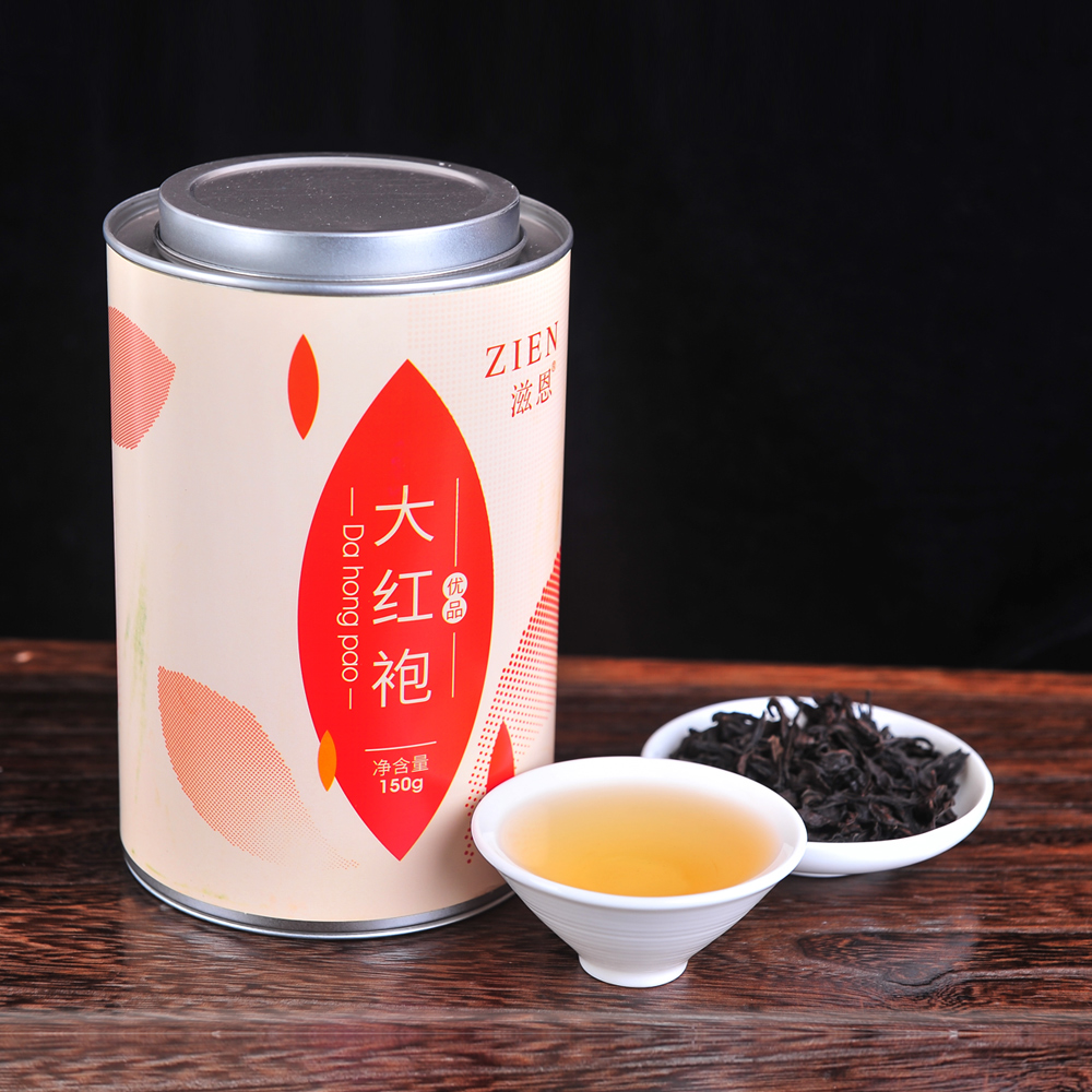 【滋恩】一级大红袍 长圆罐装 150g_1