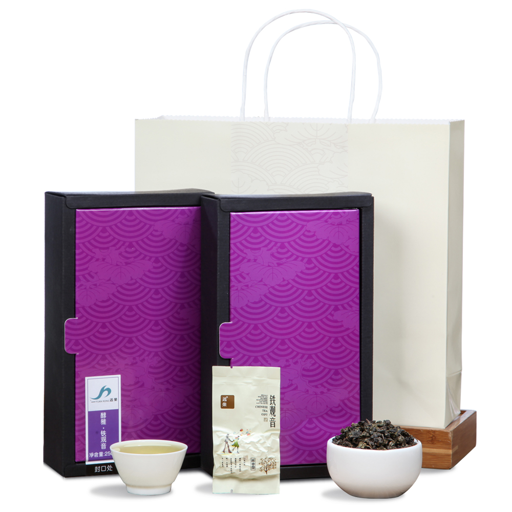【远荣】一级醇雅铁观音(菊)盒装250g*2_0