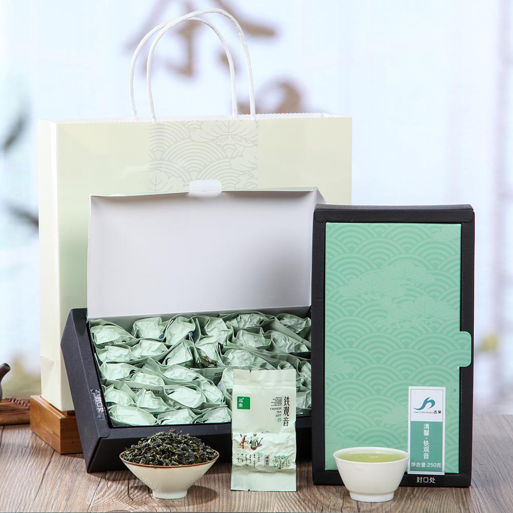 【远荣】一级清馨铁观音(梅)盒装250g*2_2