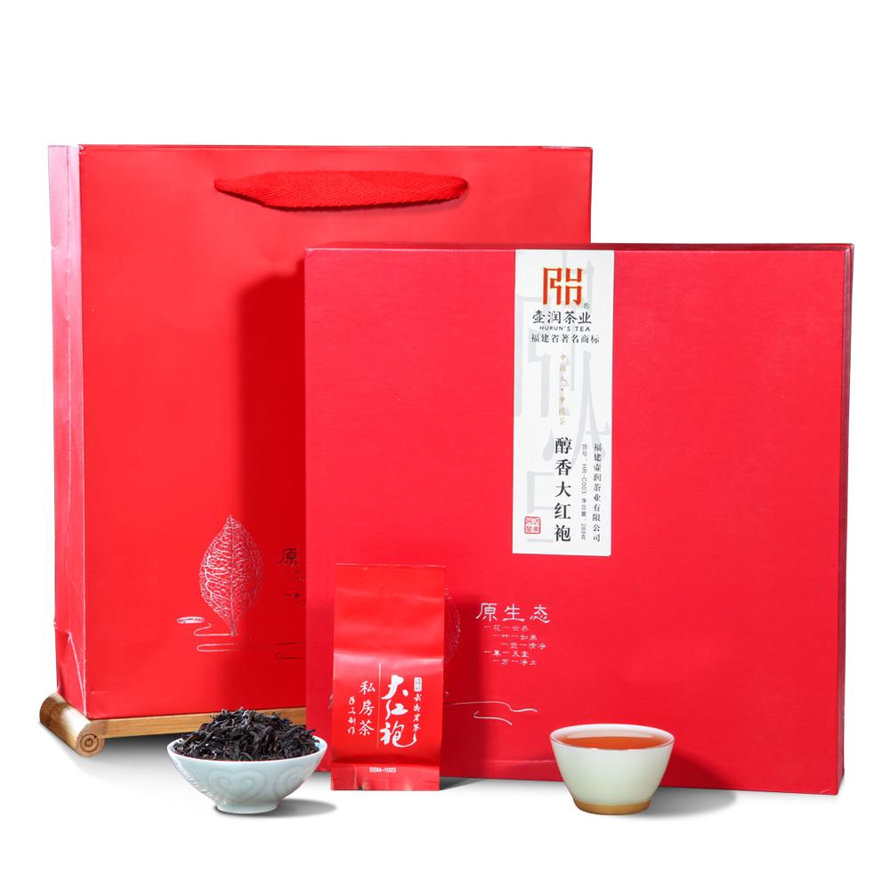 【壶润】一级醇香大红袍礼盒装288g_0