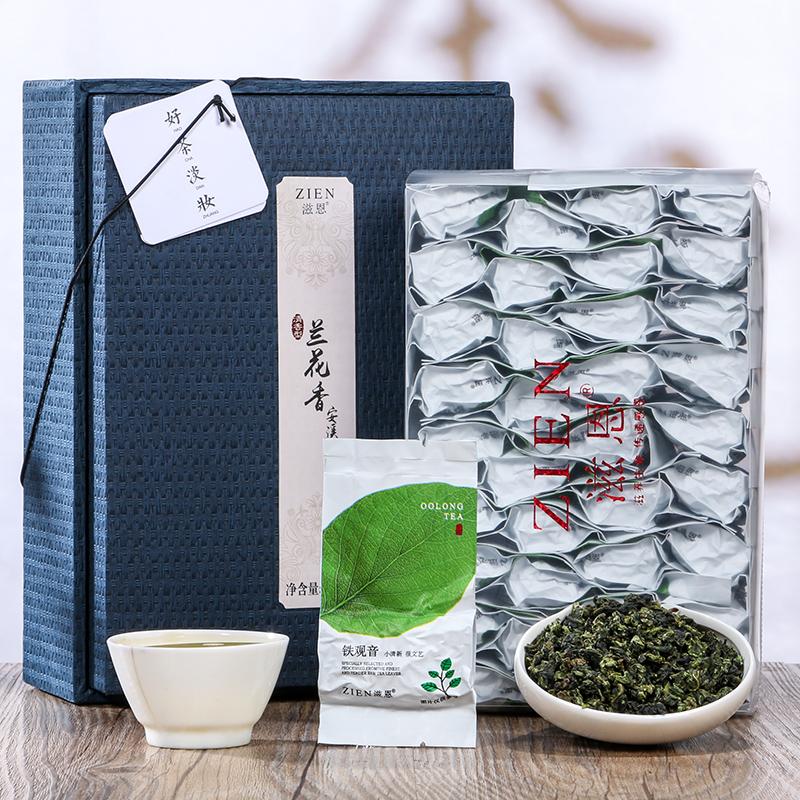 【滋恩】兰花香安溪铁观音清香型礼盒装250g_1
