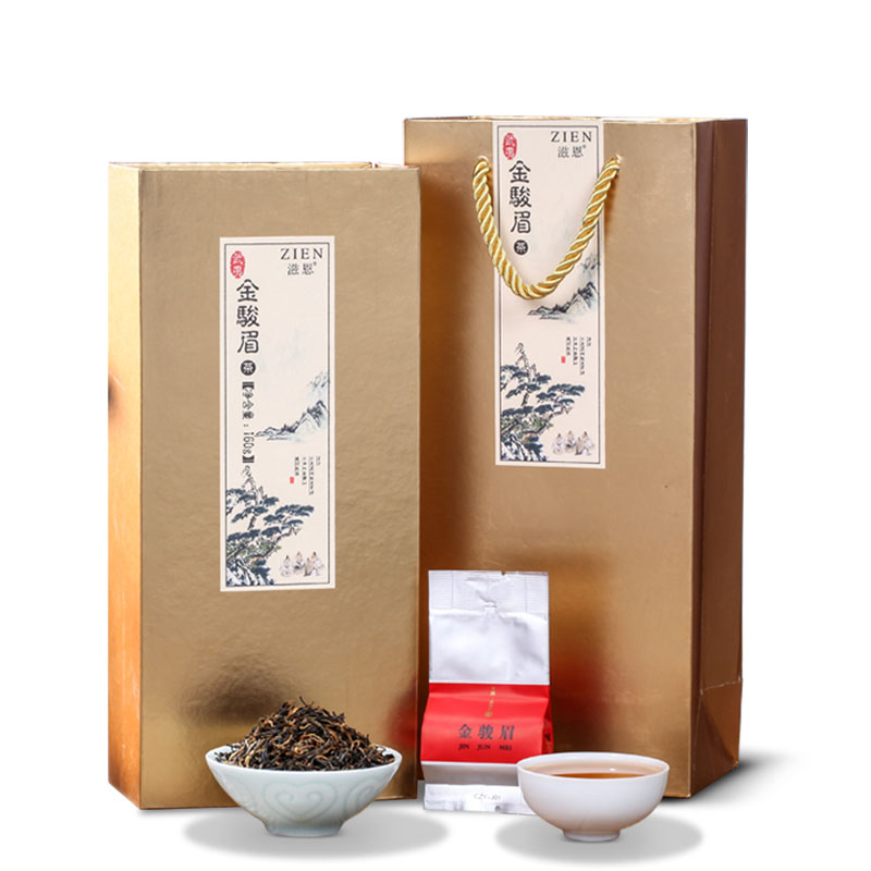 【滋恩】武夷红茶金骏眉礼盒装160g_0