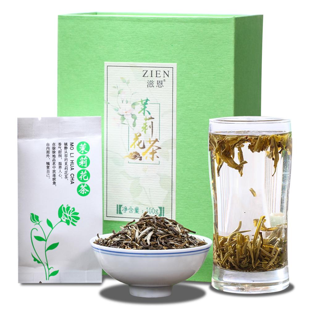【滋恩】茉莉花茶盒裝100g _0