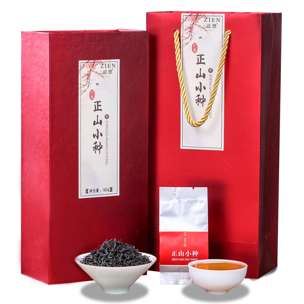 【滋恩】武夷红茶正山小种礼盒装160g_0