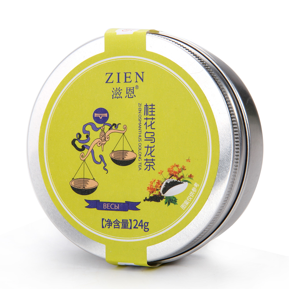 【滋恩】桂花乌龙罐装24g_0