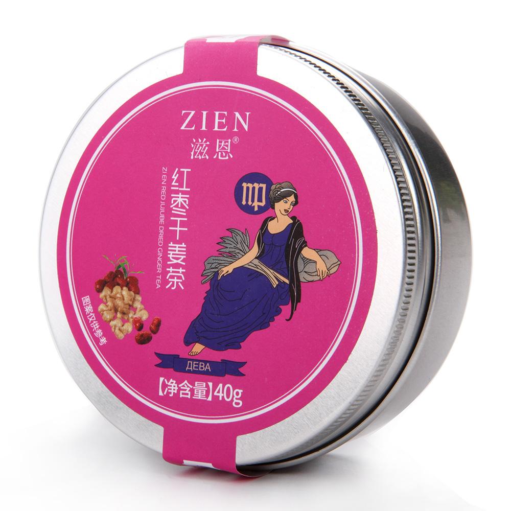 【滋恩】红枣干姜茶罐装40g_0