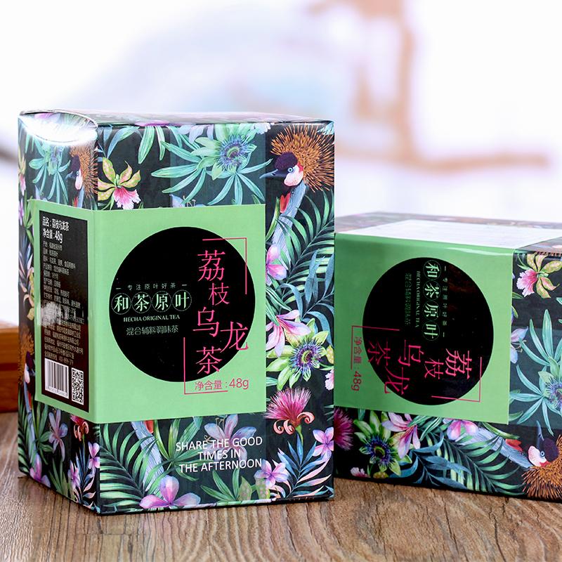 【和茶原叶】荔枝乌龙茶盒装48g_1