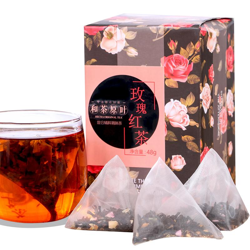 【和亚博原叶】玫瑰红亚博盒装48g_0