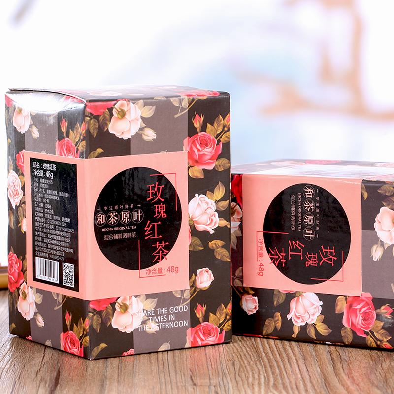 【和茶原叶】玫瑰红茶盒装48g_1