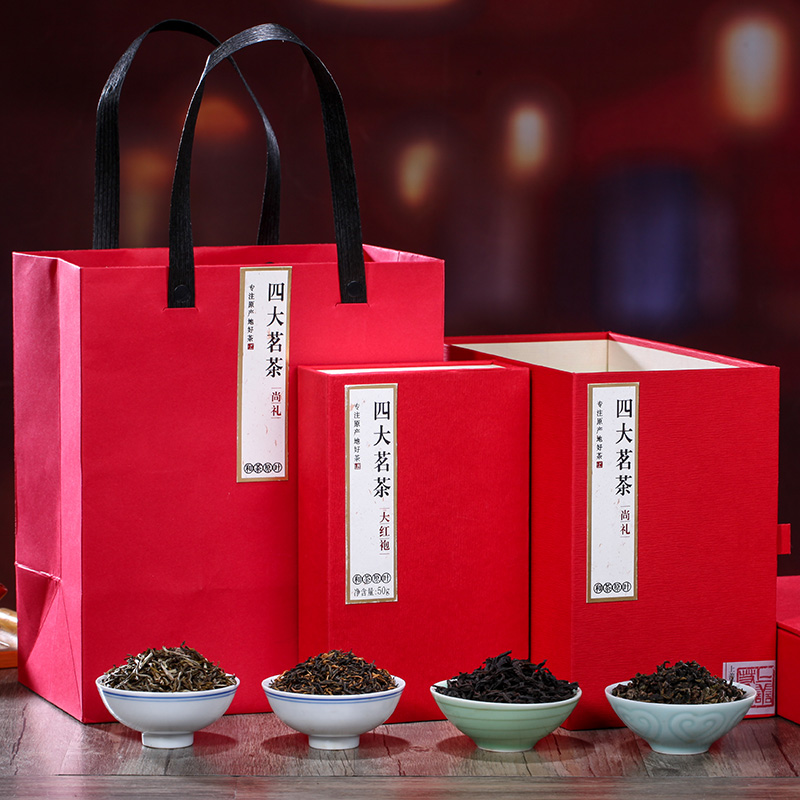 【和茶原葉】尚禮福建四大茗茶禮盒裝270g_0