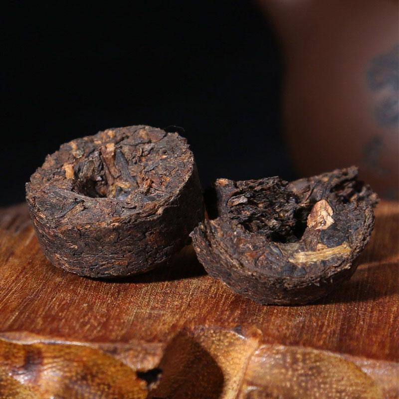 【一品堂】原味香熟沱铁盒装75g*2_2