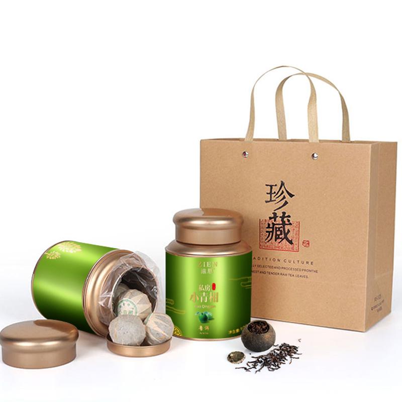 【和茶原叶】私享新会小青柑罐装100g*2_0