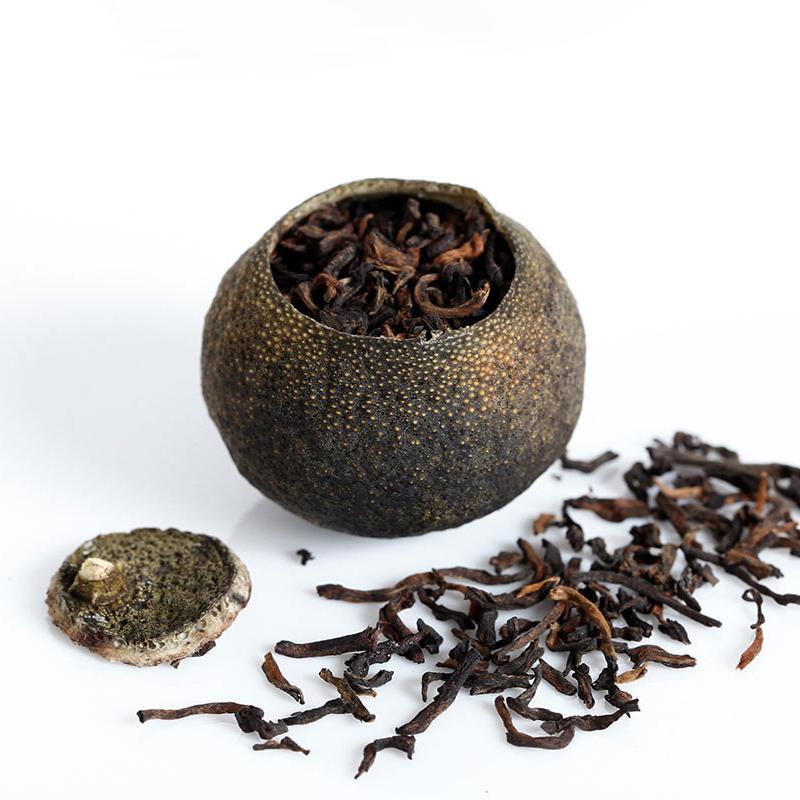 【和茶原叶】私享新会小青柑罐装100g*2_2