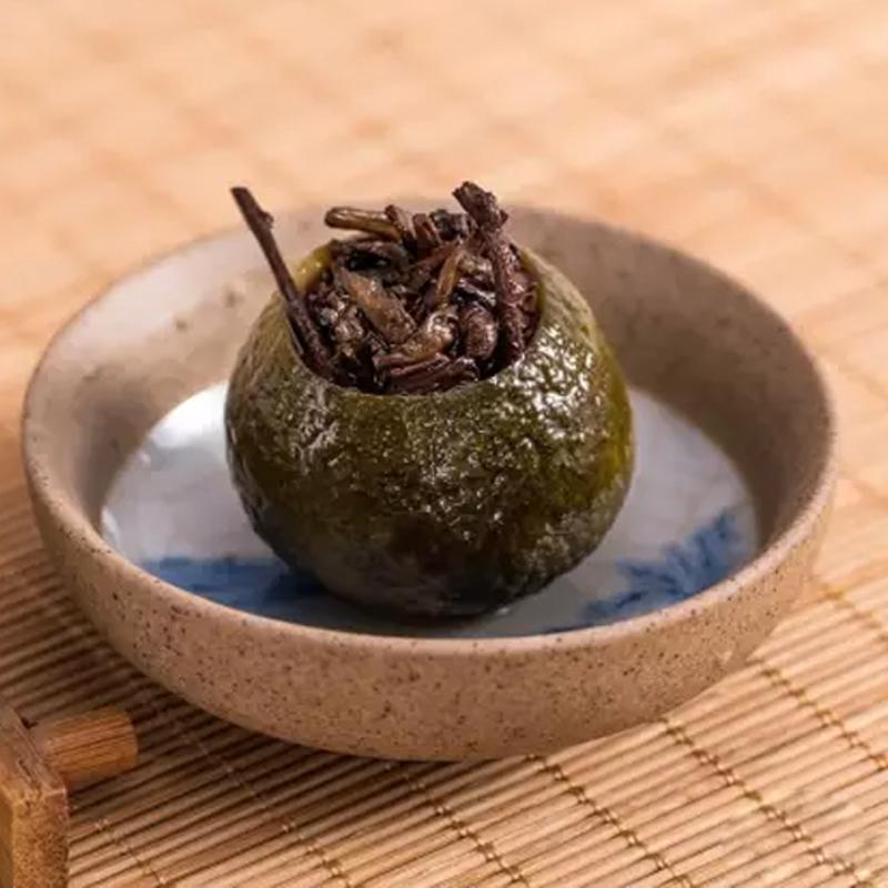 【和亚博原叶】私享新会小青柑罐装100g_4