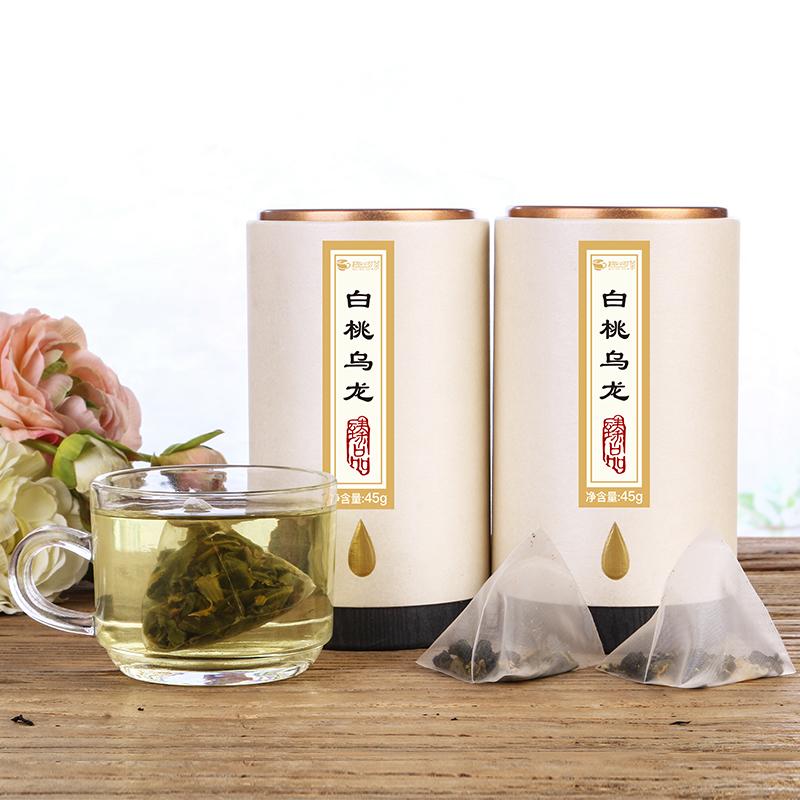 【趣呵茶】臻品·白桃乌龙罐装45g _1