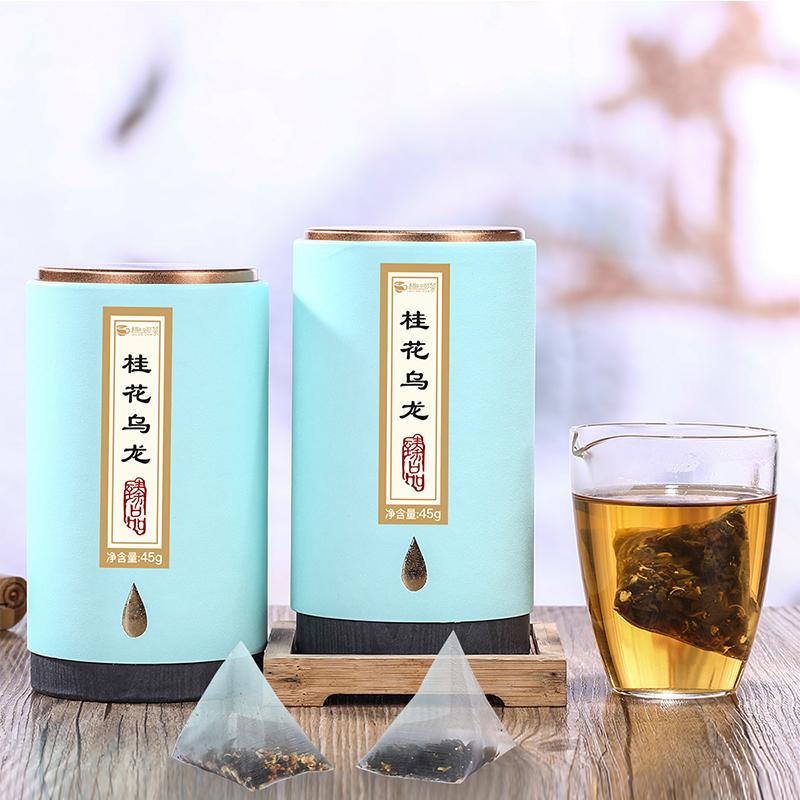 【趣呵茶】臻品·桂花乌龙罐装45g _1