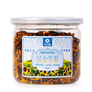 【与花香】昆仑雪菊罐装35g(买1送2)2_1
