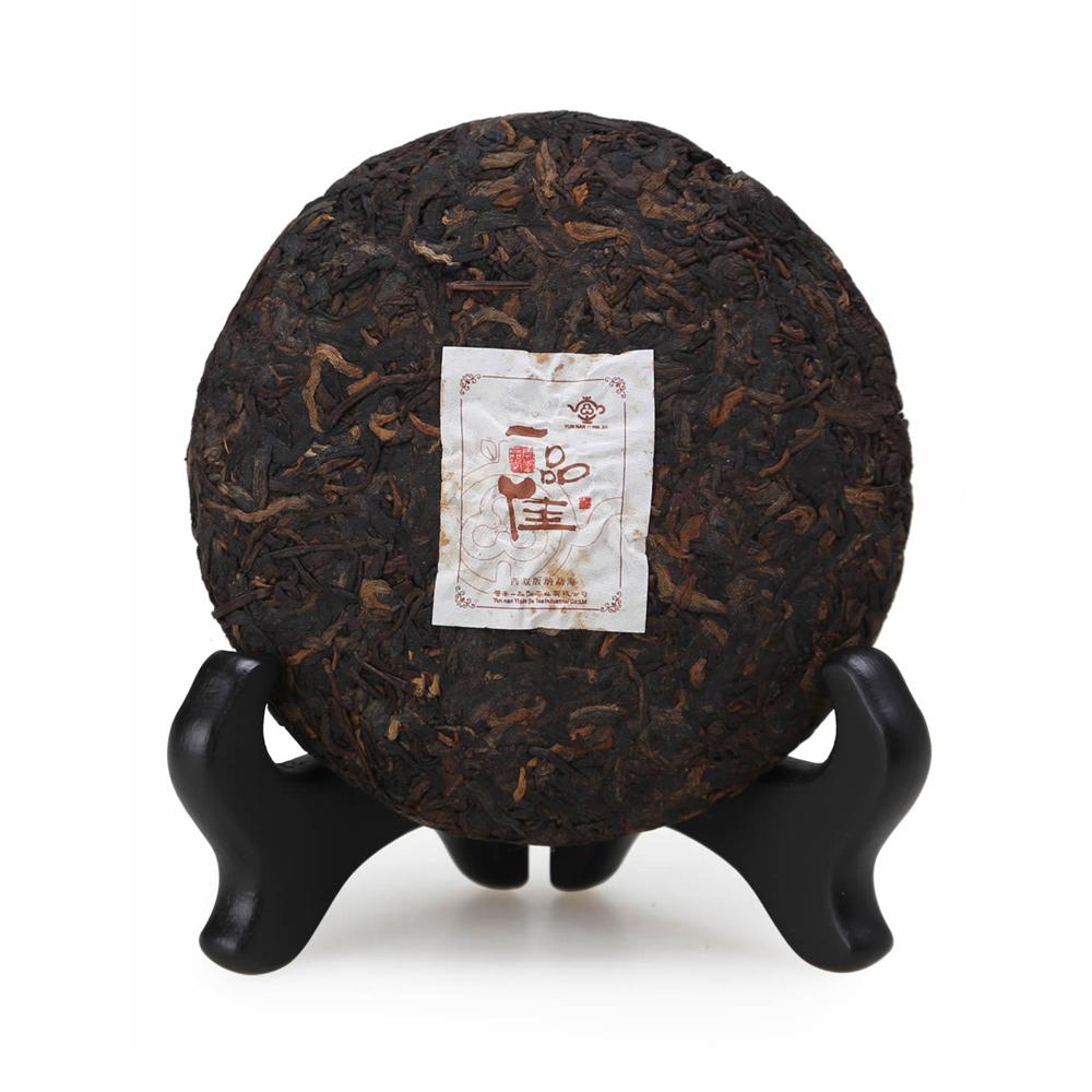 【一品堂】一品佳茶画100g*2普洱熟茶(07年)1_2