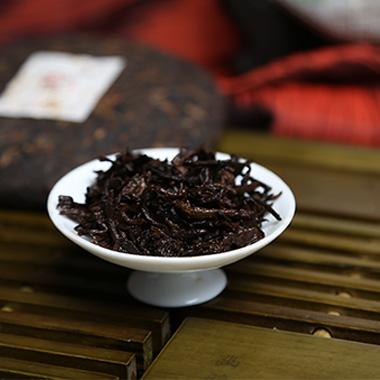 【一品堂】一品佳茶画100g*2普洱熟茶(07年)1_1
