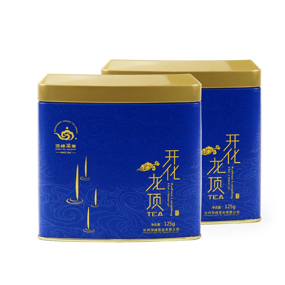 【顶峰】特级明前开化龙顶礼盒250g1_5