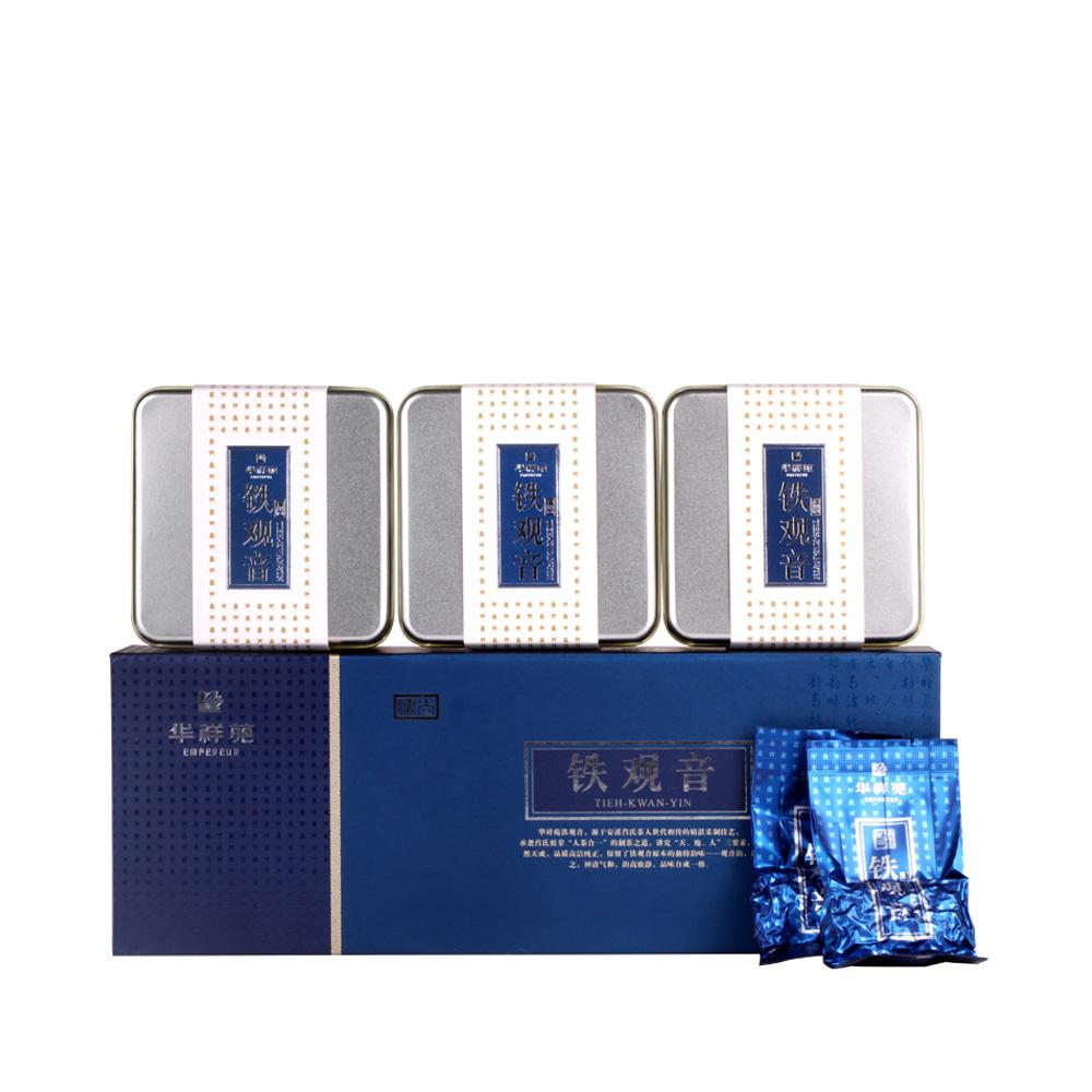 【华祥苑】一级清香型铁观音精装盒(三合一)150g