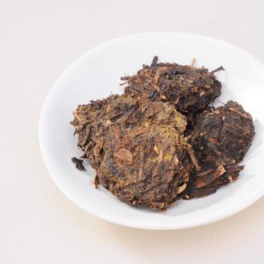 【白沙溪】2011年直泡黑砖茶散装450g2_1