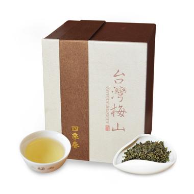 【台湾梅山制茶】四季春乌龙茶盒装120g1_0