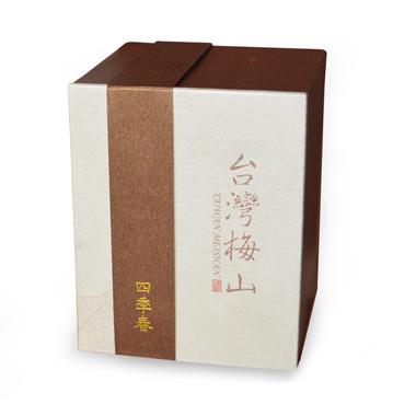【台湾梅山制茶】四季春乌龙茶盒装120g2_1