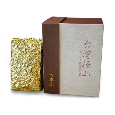 【台湾梅山制茶】四季春乌龙茶盒装120g3_2