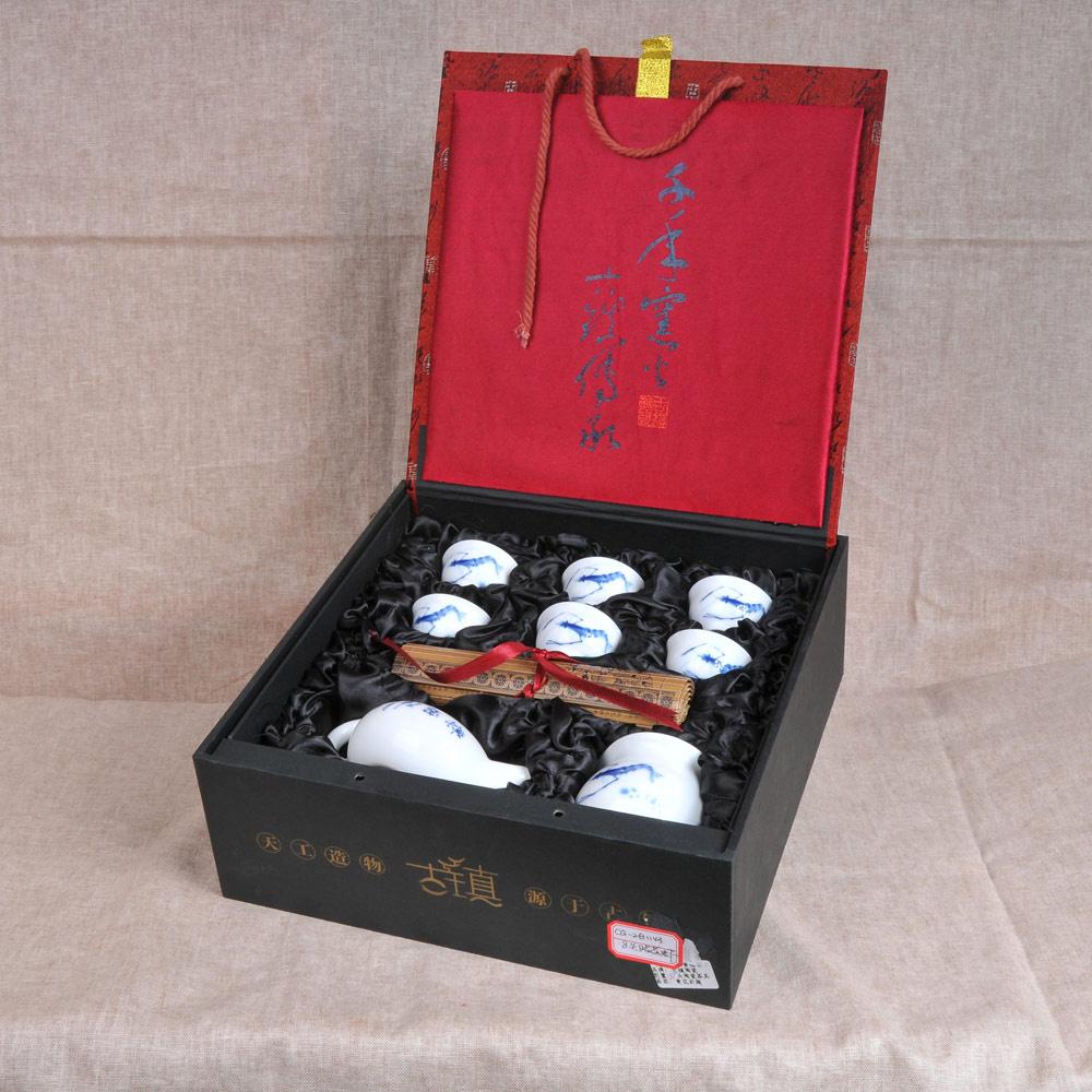 贴花虾茶具组8件套2_1