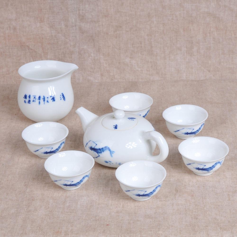 贴花虾茶具组8件套3_2