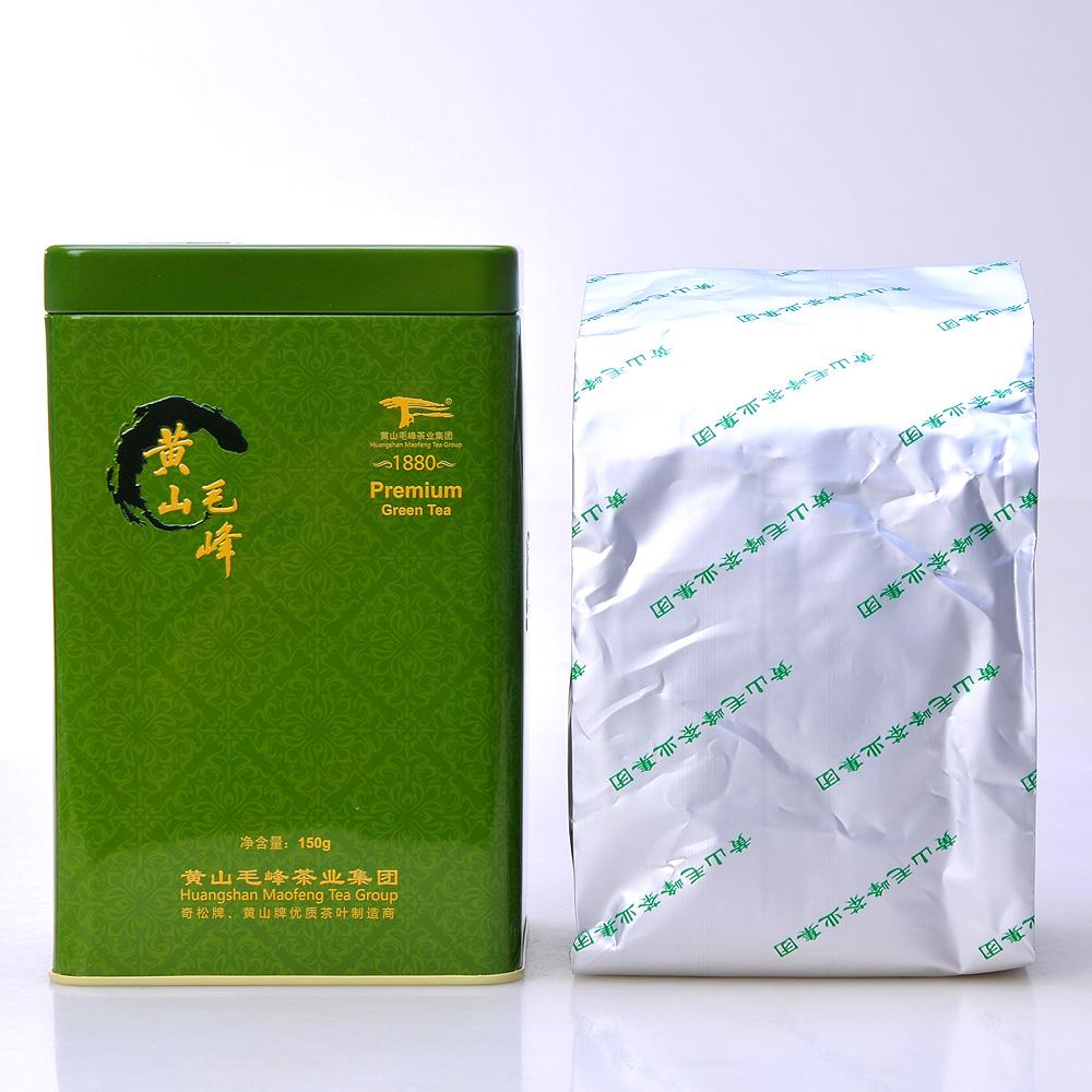 【奇松】一级黄山毛峰和峰罐装150g1_1