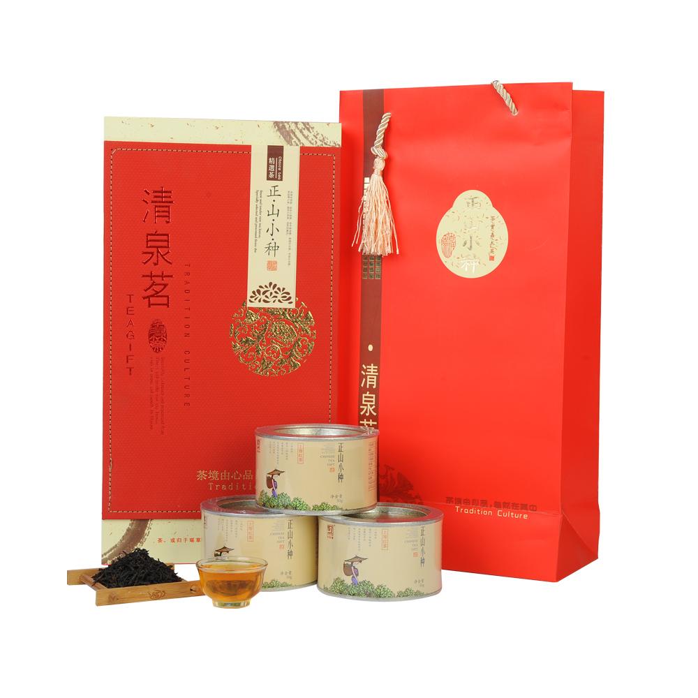 【元正】清泉茗武夷正山小种红茶150g礼盒装
