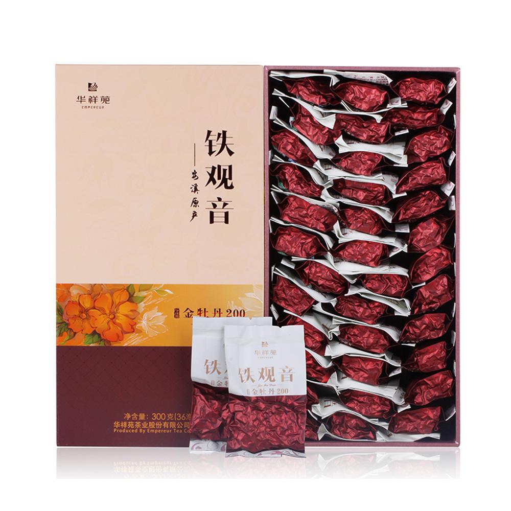 【华祥苑】金牡丹200一级清香铁观音礼盒装300g1_0
