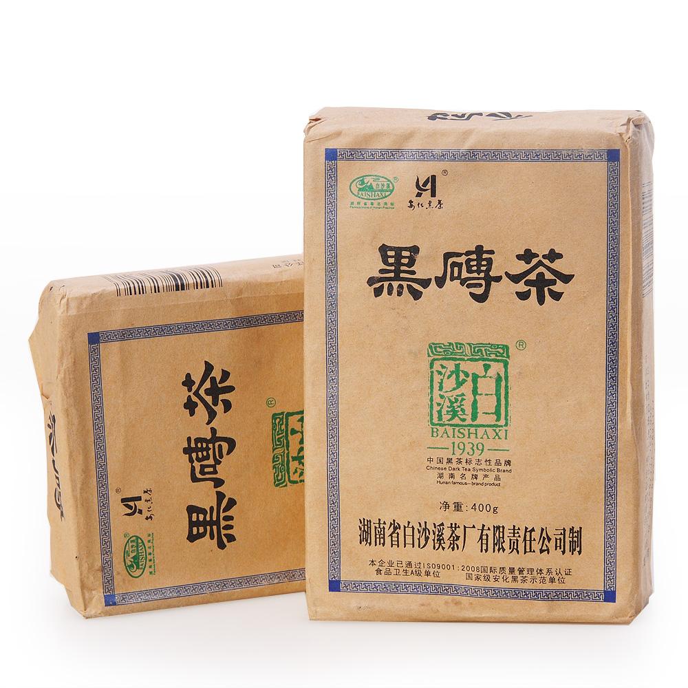 【白沙溪】2011年黑砖茶400g1_0