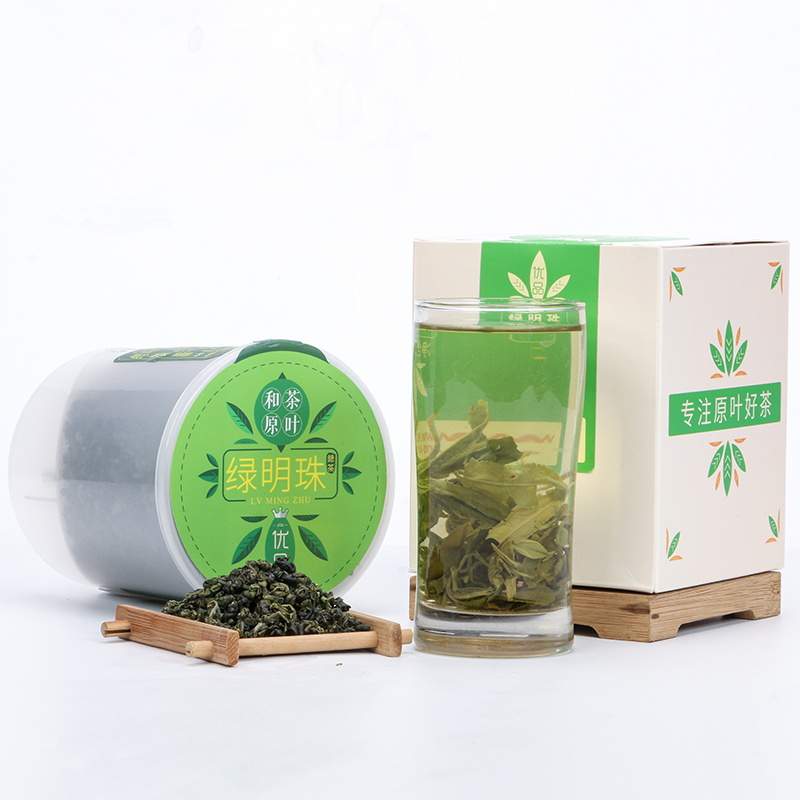 【和茶原叶】一级绿明珠绿茶220g(优品) 2_1