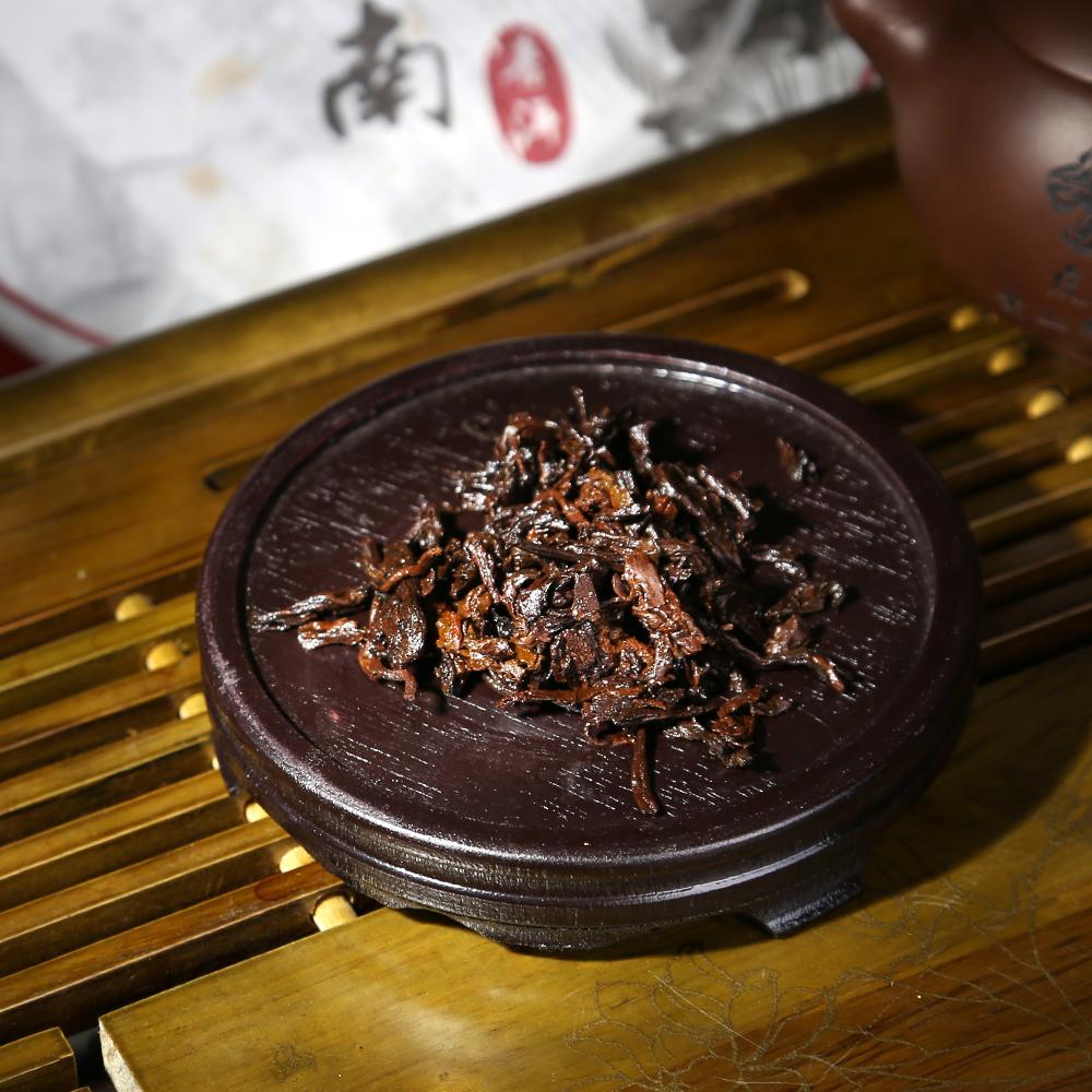 【滋恩】印象江南普洱熟茶饼357g*2饼5_4
