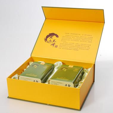 【奇松】一级轩辕峰雨前有机黄山毛峰礼盒300g1_1