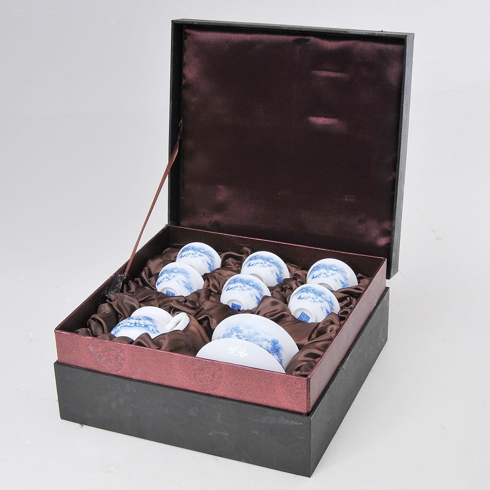 【福萬利】青花雪景山水茶具8件套1_0