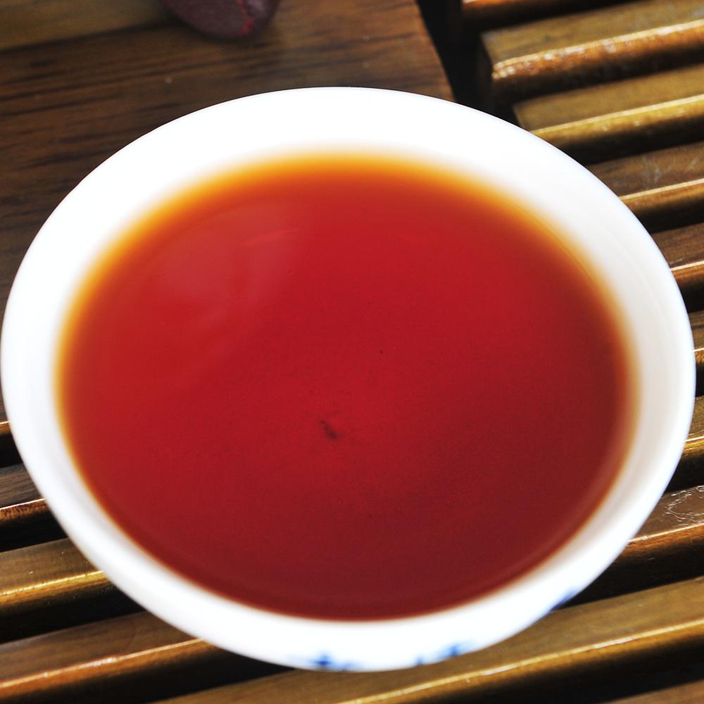 【一品堂】一品普洱熟饼357g(2012年绿标)3_2