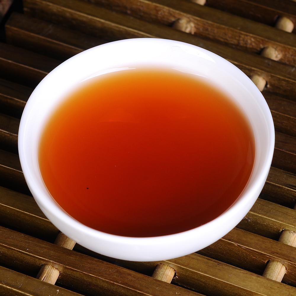【滋恩】勐海陈香普洱茶饼熟茶357g*24_3