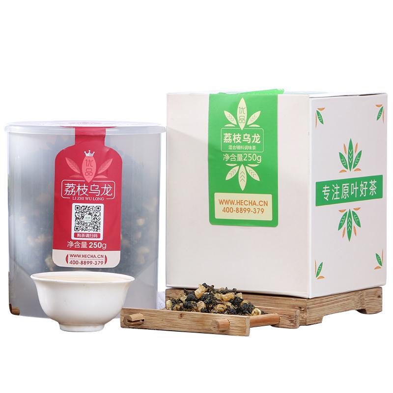 【和茶原叶】特级荔枝乌龙罐装250g(优品) 1_0