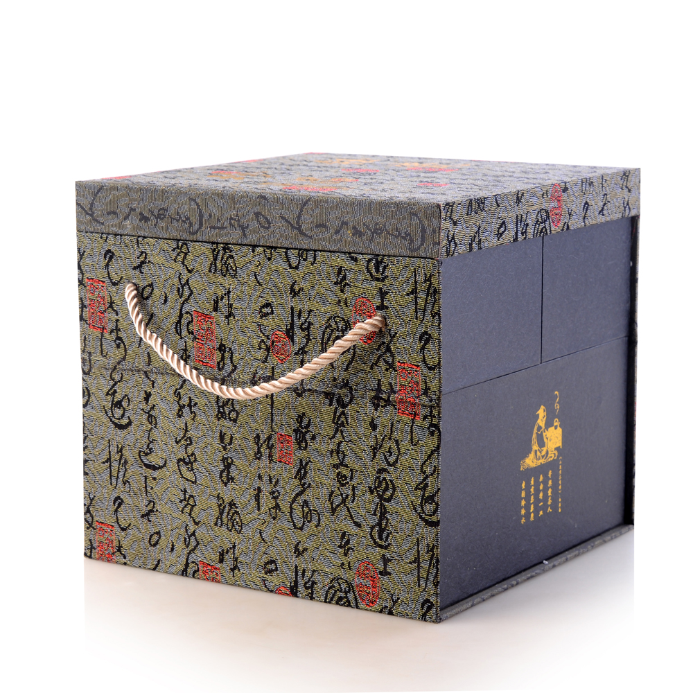 【宏远达】德化尊贵雪花 10件茶具套礼盒装1_0