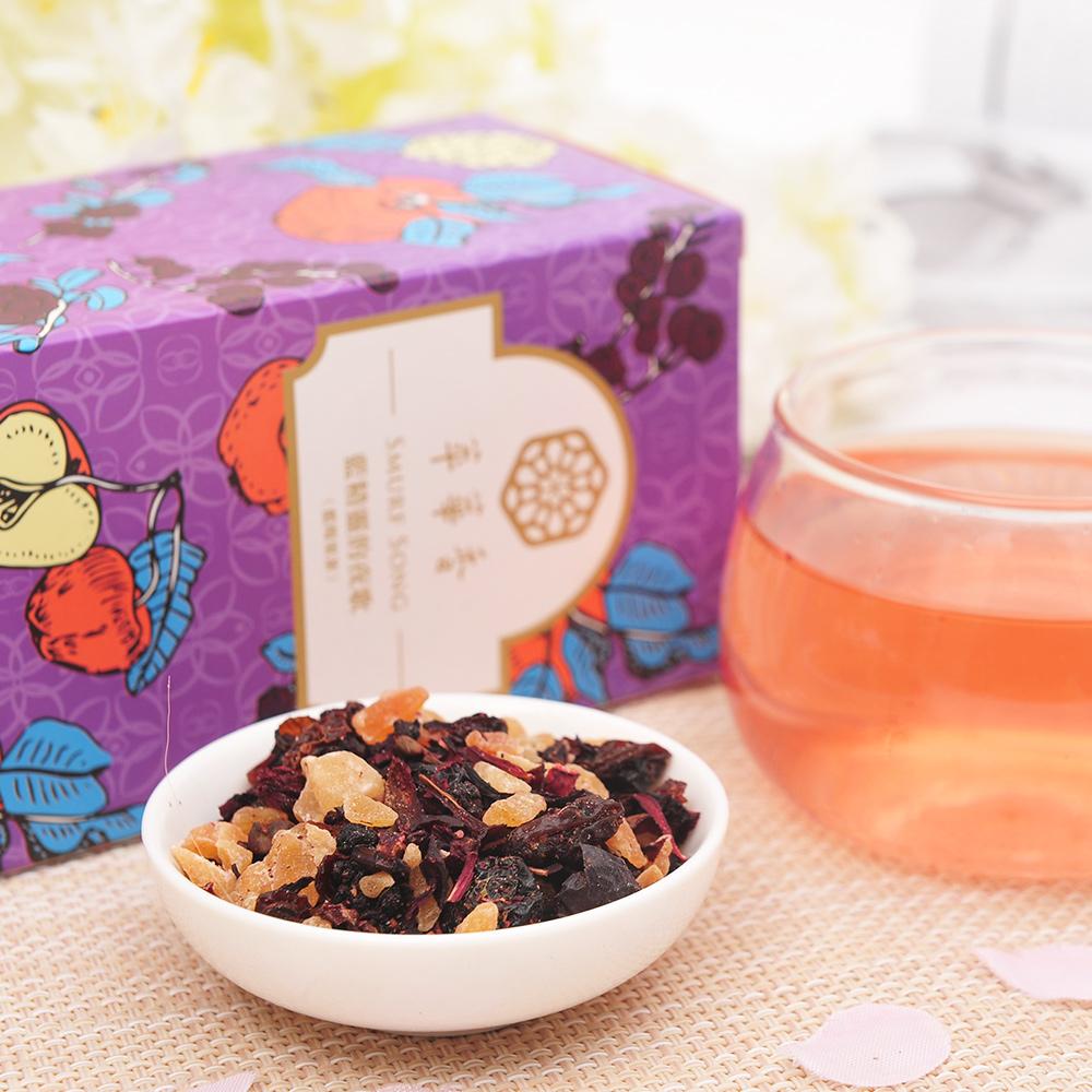 【萃華香】藍精靈的夜歌(Smurf Song)藍莓果茶盒裝70g4_3