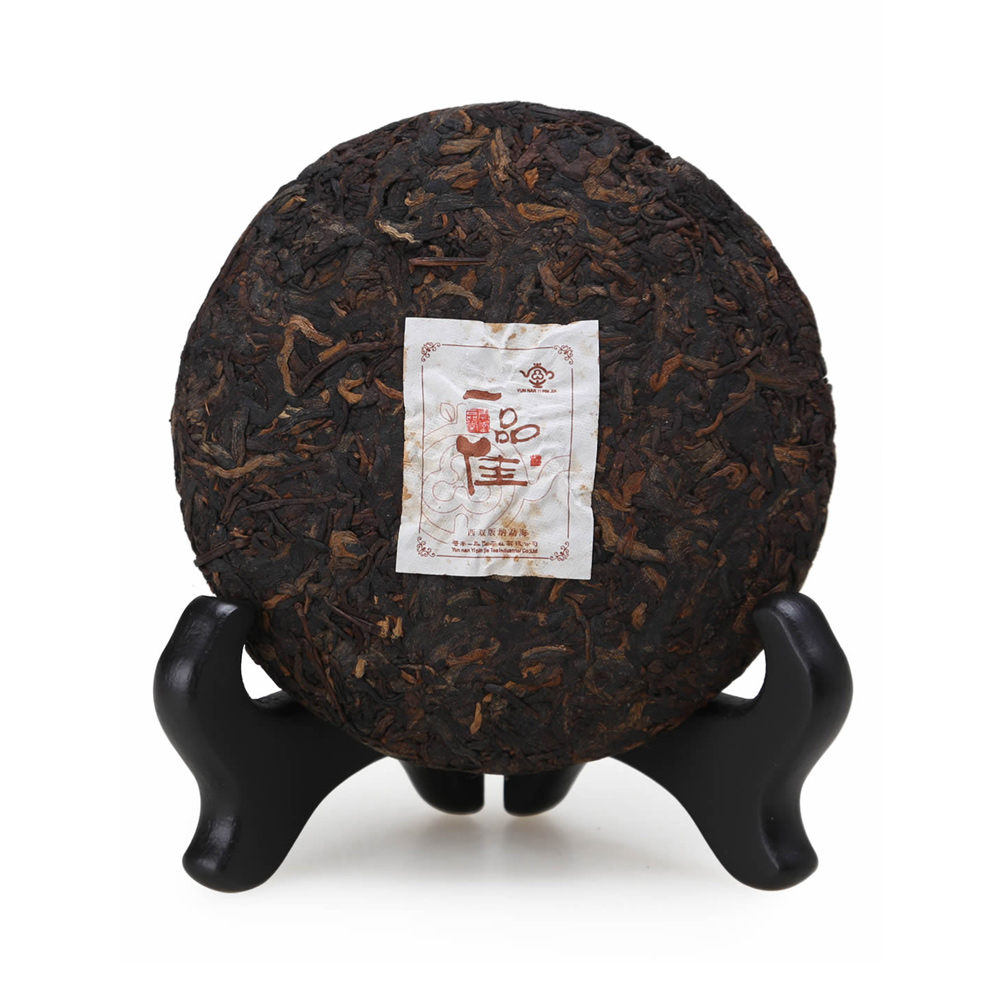 【一品堂】一品佳茶画100g普洱熟茶(07年)1_2