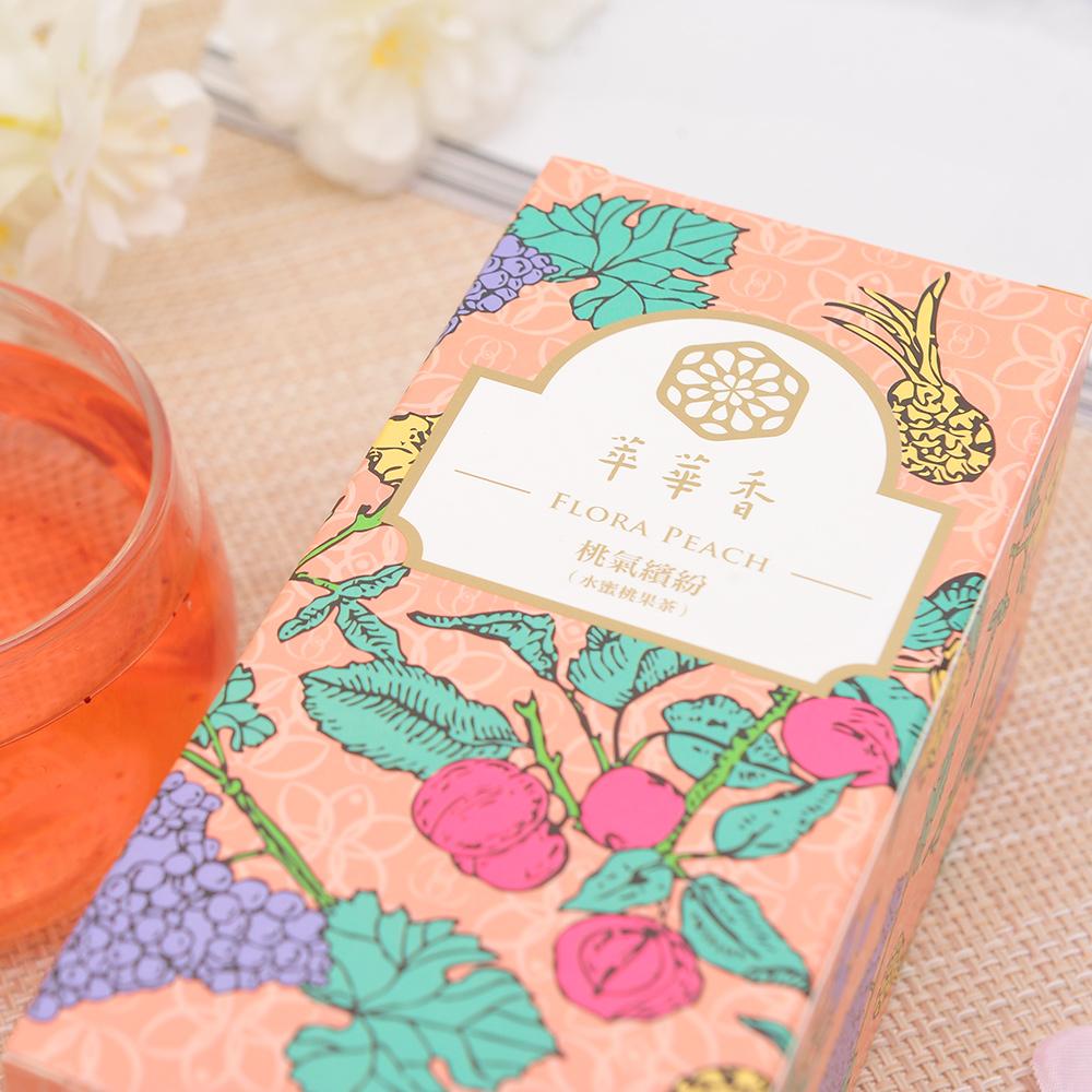 【萃華香】桃氣繽紛(Flora Peach)水蜜桃果茶盒装70g6_5