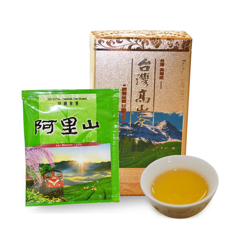 【台湾梅山制茶】阿里山乌龙茶包盒装30g1_0