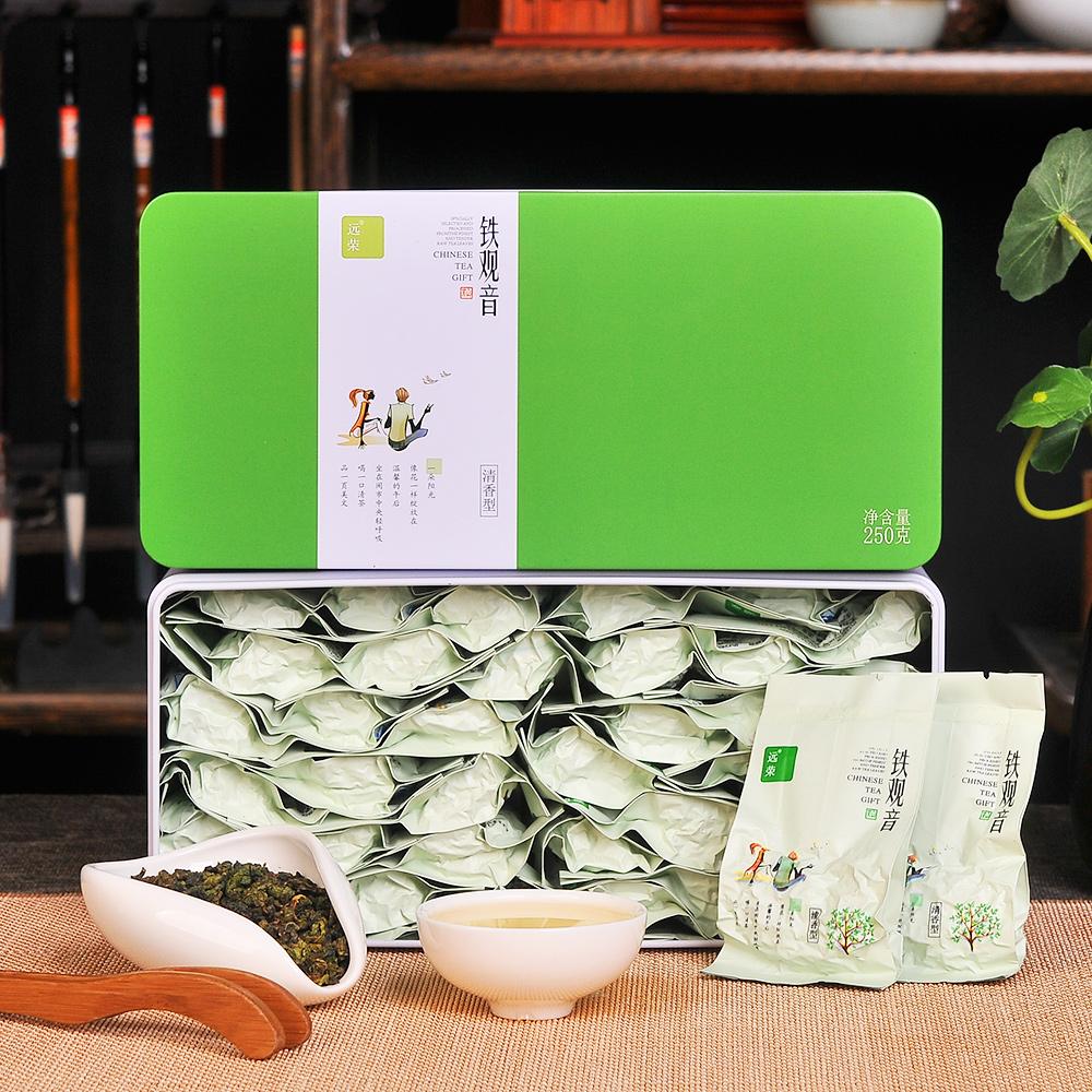 【遠榮】特級清雅清香鐵觀音禮罐裝250g(新包裝)1_0